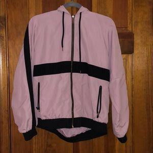 Light Pink Track Jacket